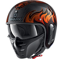 Shark S-drak Carbon 2 Dagon Helmet Orange