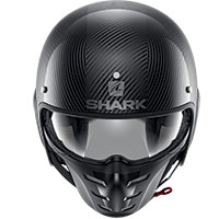 Casco Shark S-drak Carbon 2 Skin Nero