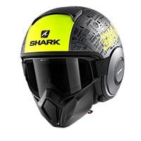 Shark Street Drak Gray Yellow