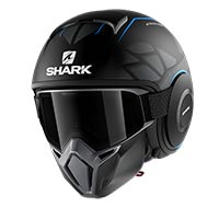 Shark Street Drak Hurok Blue Black