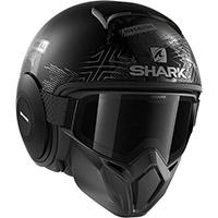 シャークストリート・ドルクルマットヘルメットブラック