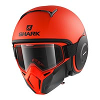 Shark Street Drak Neon Red