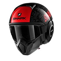 Shark Street Drak Black Red