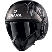 Shark Street Drak Crower Mat Helmet Black