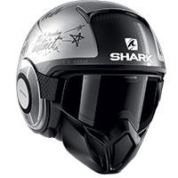 Shark Street Drak Tribute Rm Mat Helmet Grey