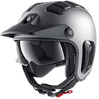 Shark X-drak 2 Blank Mat Helmet Grey