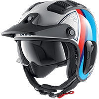 Shark X-drak 2 Terrence Helmet White Blue Red
