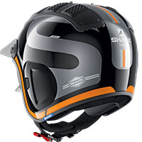 Casco Shark X-drak 2 Thrust-r Arancio