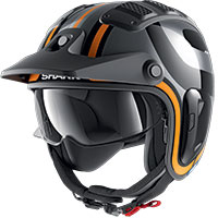 Shark X-drak 2 Thrust-r Helmet Orange