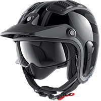 Shark X-drak 2 Thrust-r Helmet Black