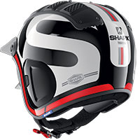 Shark X-drak 2 Thrust-r Helmet Red