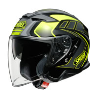 Casco Jet Shoei J-cruise 2 Aglero Tc-3 Giallo