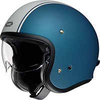 Casco Shoei J-o Carburettor Tc2 Blu
