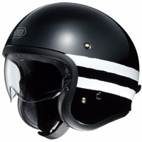 Shoei J-o Sequel Tc-5 Black White