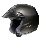 Shoei Rj Platinum Antracite