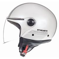 Mt Helmets Street Entire E6 Bianco