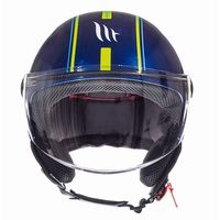 Mt Helmets Street Entire J2 Blue Yellow