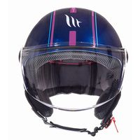 Mt Helmets Street Entire J4 Blue Pink