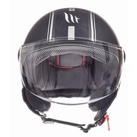 Mt Helmets Street Entire C9 Nero Opaco