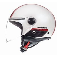 Mt Helmets Street Entire D1 Red White