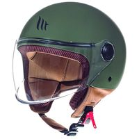 Mt Helmets Street Solid A6 Matt Green