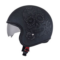 Suomy Rokk Calavera Black Scratch Grey