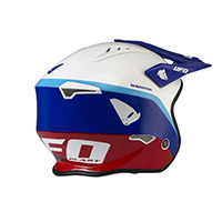 Ufo Sheratan Helmet Blue White Red