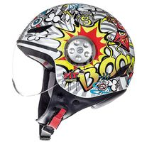 Mt Helmets Urban Street Art Kid White Yellow Kinder