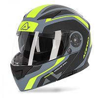 Acerbis Rederwel Modular Helmet Grey Yellow
