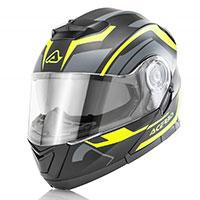 Acerbis Serel Modular Helmet Black Yellow Fluo