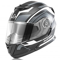 Acerbis Serel Modular Helmet Black Grey