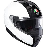 Agv Sportmodular Bianco Carbon