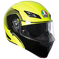 Agv Compact St Multi Vermont Yellow Fluo Black Pinlock