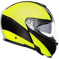 Agv Sportmodular Hi-vis Carbon-yellow Fluo - 3