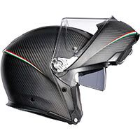 Agv Sportmodular Tricolore Matt Carbon / Italy