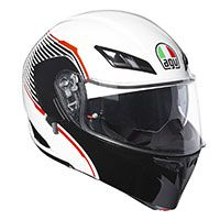 Agv Compact St Multi Vermont White Black Red