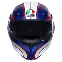 Agv Compact St Boston Helmet Blue White Red