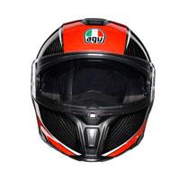 Agv Sportmodular Aero Carbon Red