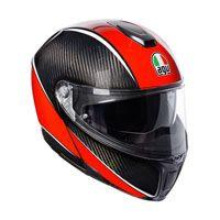 Agv Sportmodular Aero Carbon Rosso