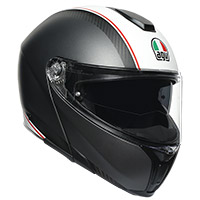 Agv Sportmodular Cover Helmet Gun Metal White