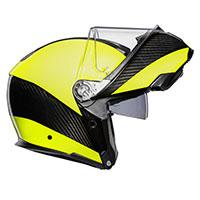 AGV Sport Modular Hi-Vis Carbon-Yellow Fluo