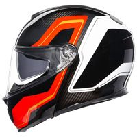 Agv Sportmodular Sharp Helmet Carbon Red White