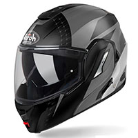 Airoh Rev 19 Leaden Modular Helmet Anthracite Matt