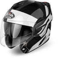 Airoh Rev 19 Fusion Black White