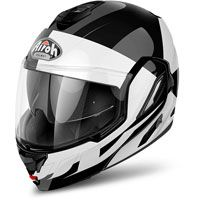 Airoh Rev 19 Fusion Black White