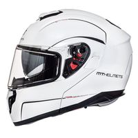 Mt Helmets Atom Sv Solid White