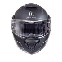 Mt Helmets Atom Sv Solid Matt Black