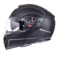 Mt Helmets Atom Sv Solid Nero Opaco