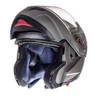 Mt Helmets Atom Sv Solid Grigio Opaco