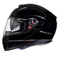 Mt Helmets Atom Sv Solid Black